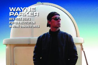 Wayne Parker was featured on the May 2007 cover of Astronomy Technology Today where he is shown standing in front of a SkyShed POD.