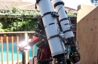 Image 2: Paramount MEII carrying a TEC140 and a TEC180, set up for simultaneous imaging.