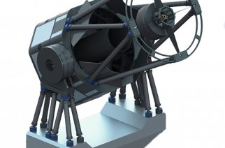 Image 2: Rendering of PlaneWave's new CDK PW1000 one-meter observatory system.