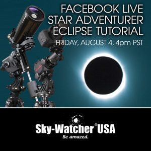 SkyWatcher USA to Host a Tutorial on the Star Adventurer Mini Mount Platform for DSLR Astro Imaging