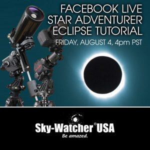 SkyWatcher USA to Host a Tutorial on the Star Adventurer Mini Mount Platform for DSLR Astro Imaging
