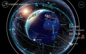The Cosmic Watch iOS and Android App Offers a World Clock and Astronomical Clock All in One