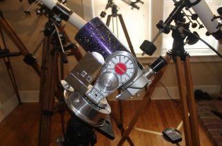 Astronomy Shoppe's Olde School Optics Division Offers Telescope Restoration Services and Sales of Classic Telescopes