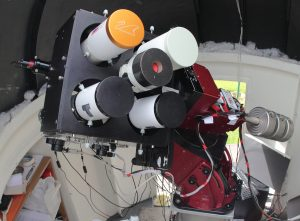 MiniWASP Parallel Imaging Telescope Array