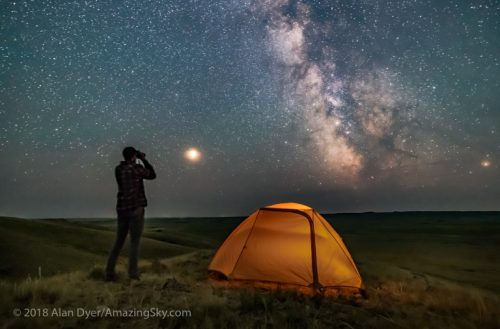 Amazing Time-Lapse Nightsky Video Imaging by Alan Dyer