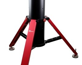 The New iOptron Tri-Pier 360 Portable Telescope Pier Carries Up to 360 Pounds of Astronomy Gear