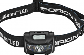 Orion Telescopes & Binoculars Magnetic RedBeam LED Motion-Sensing Headlamp