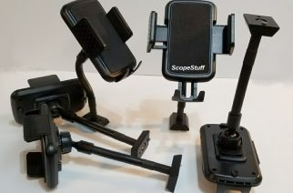 ScopeStuff Offers New Cell Phone Mount for Telescopes