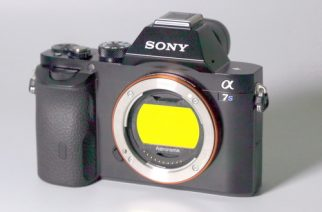 Clip-Filter for Sony Alpha 7 and Alpha 9 Cameras