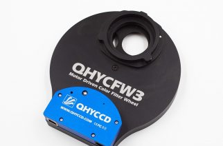 QHYCCD FY3 Filter Wheel for Astronomy Offers New Ultra-Thin Stepper Motor Drive