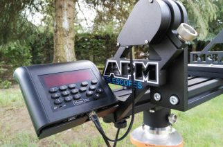 APM Fork Mount with AMT Encoder and Nexus Controller for Large Astronomy Binoculars