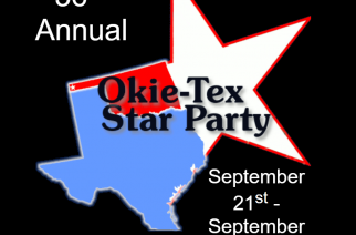 The Okie-Tex Star Party to be Held September 21 – September 29
