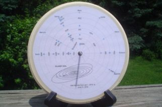 StoneAgeTech Offers Custom Planet Dial for Astronomical Observing