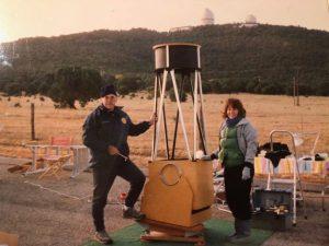 Amateur Astronomer Barbara Wilson