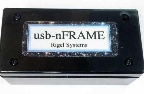 Rigel Systems Announces the usb-nFRAME Camera Rotator is Now in Production