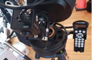 Revolution Imager Offers New Right Handy Controller Heater Holder for Celestron Evolution Telescopes