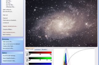 DeepSkyStacker Astro Imaging Pre-Processing Software Release