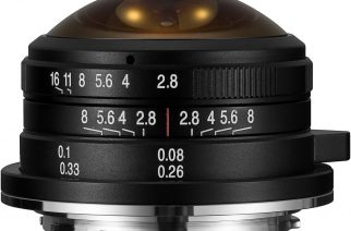 Venus Optics Laowa 4mm f/2.8 Circular Fisheye Lens