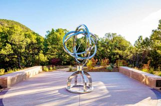 St. John's College Installs the World's Only Working Armillary Sphere, A Precursor to the First Telescopes