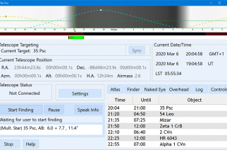 SkyTools 4 is Now Available in a Visual Observing Edition for Amateur Telescope Users