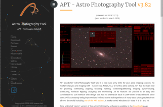 APT AstroPhotography Tool Software Launches New Site and Functionality