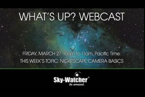"Sky-Watcher ""What's Up?"" Webcast"