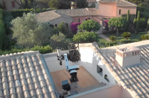 Planewave Instruments Offers Unusual Telescope Install in St. Tropez, France