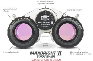 Baader Planetarium's New MaxBright II Binoviewer