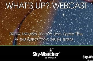 "Sky-Watcher ""What's Up?"" Webcasts to Discuss Visual Filters"