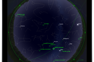 New Version of Orbitrack Satellite Tracking App Released