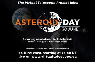 View Real Asteroids by Telescope on Asteroid Day 2020