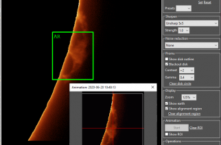 Solar Live View Imaging Software