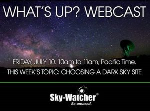 Dark Skies for Astronomy