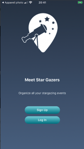 Meet Star Gazers App