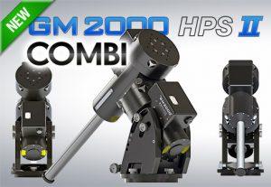 GM2000 HPS II COMBI MOUNT