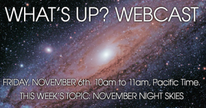 Sky-Watcher What's Up? Webcast