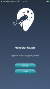 Meet Star Gazers App