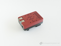 Raspberry Pi 4b case with VSaddle attachment