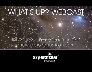 What to See With a Telescope in July